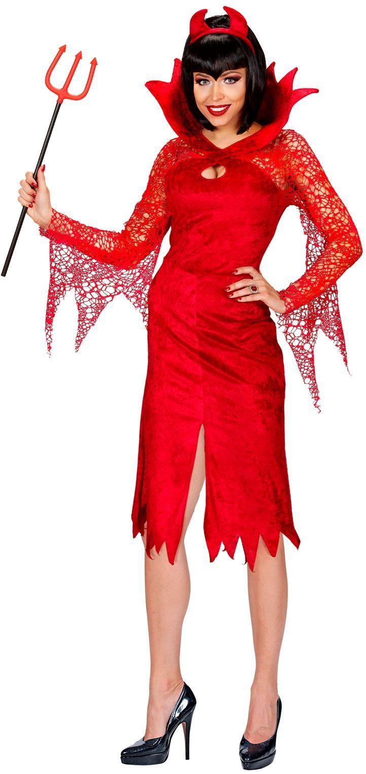 Duivelse rode jurk