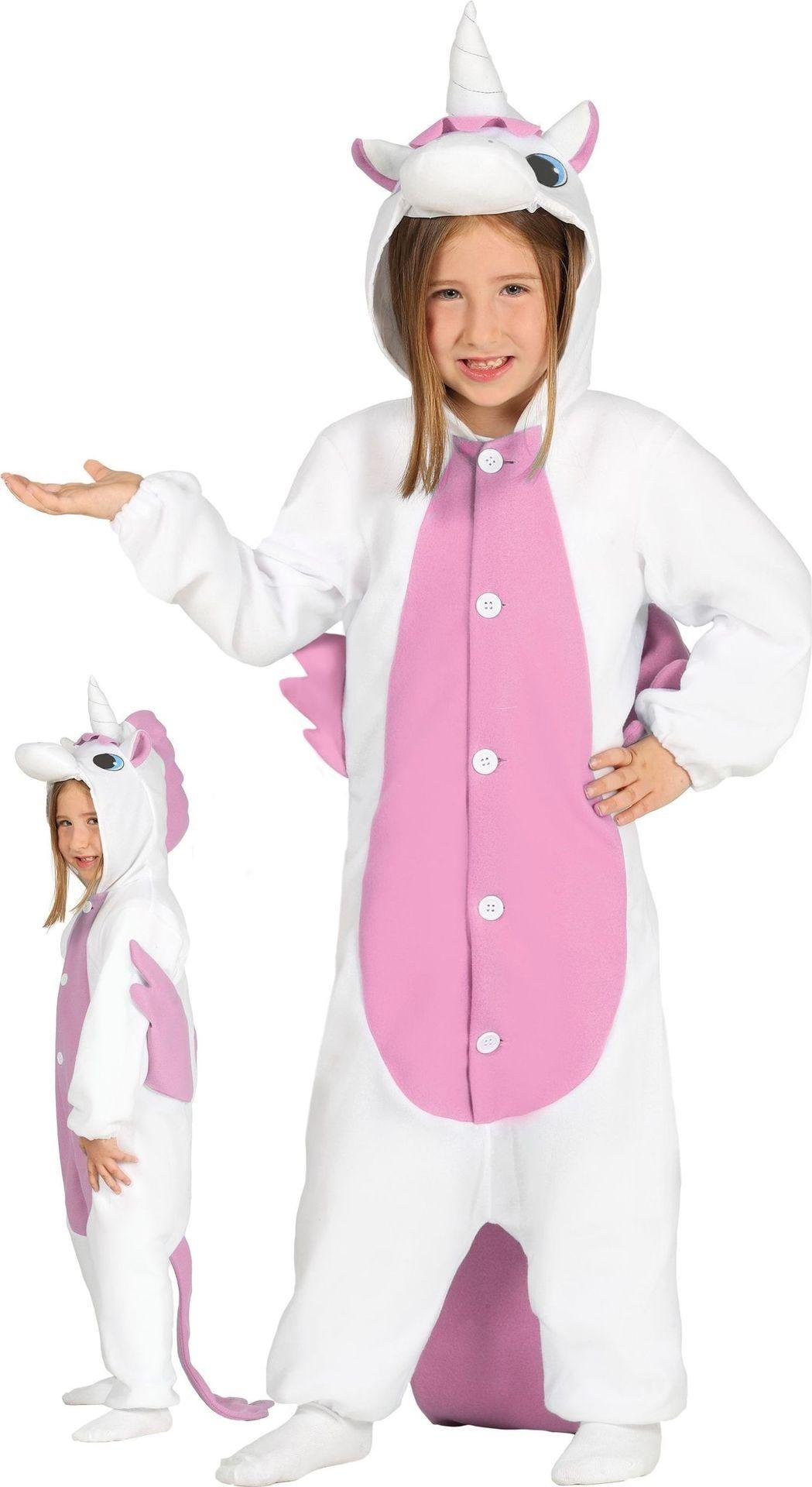 Eenhoorn kostuum meisje