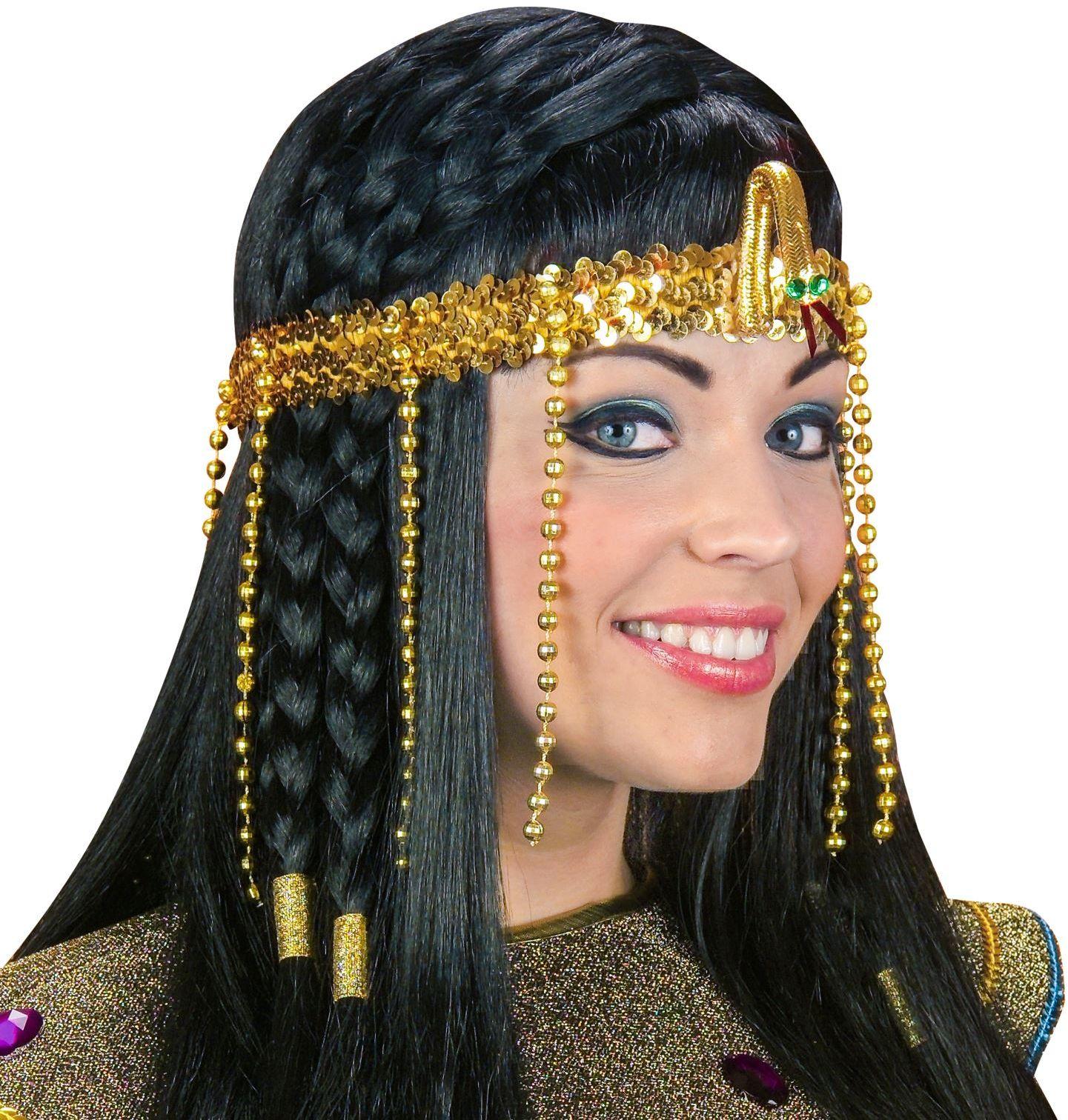 Egyptische gekraalde slangen hoofdband