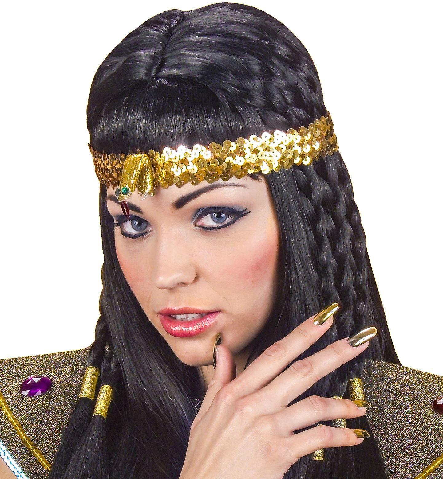 Egyptische slangen hoofdband