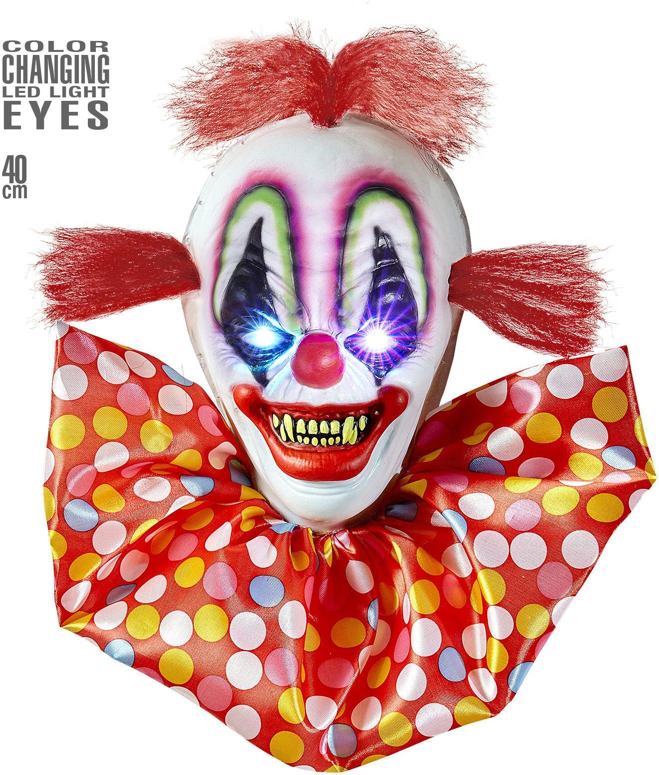 Enge clown decoratie