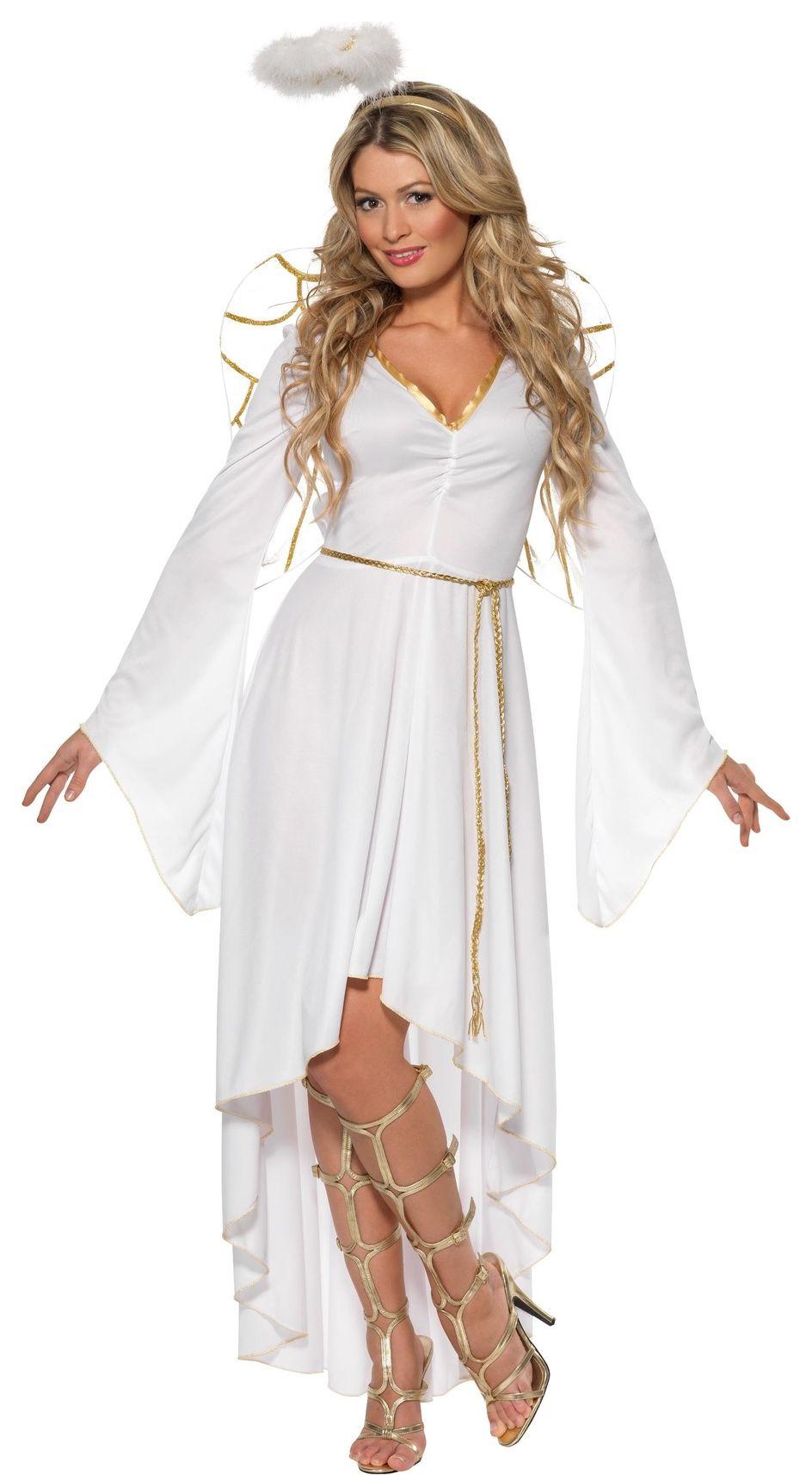 Engelen jurk dames