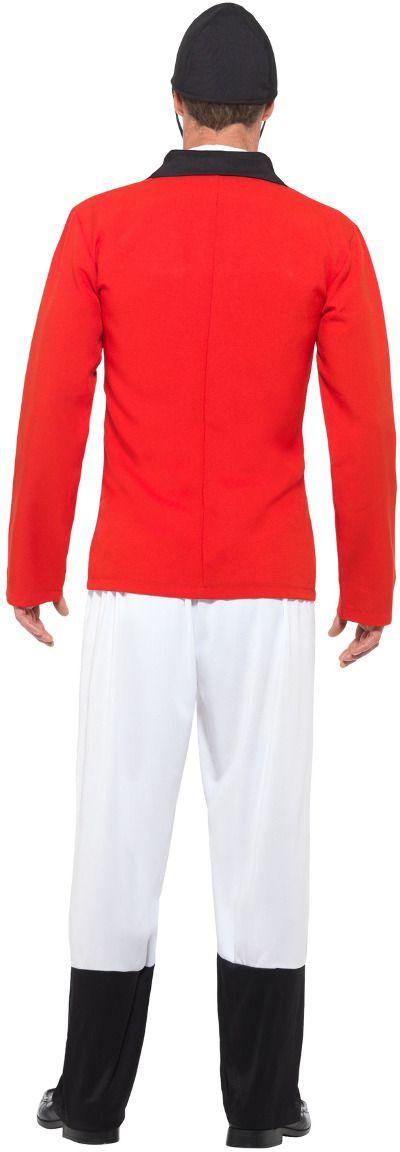 Engelse jacht kostuum rood