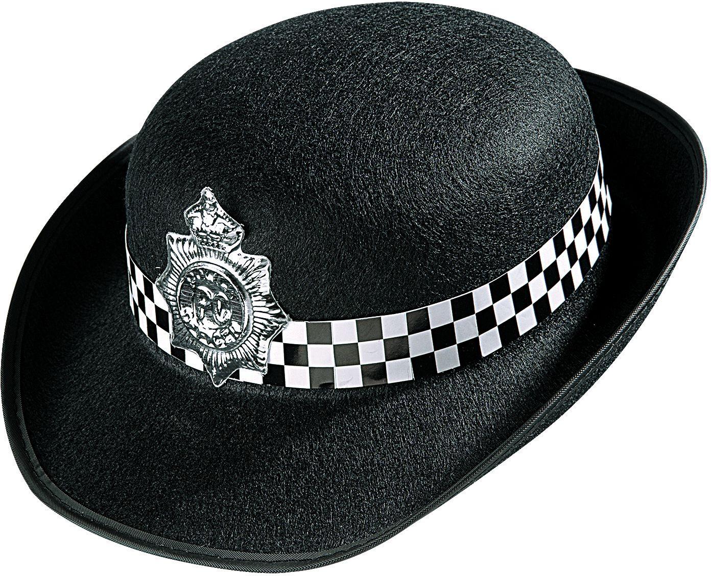Engelse politievrouw hoed