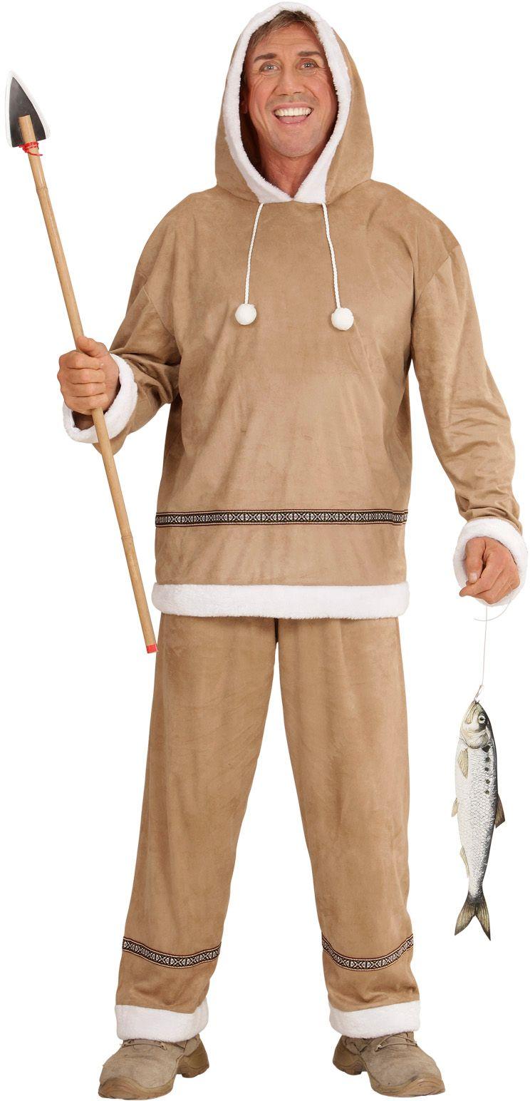 Eskimo kostuum man