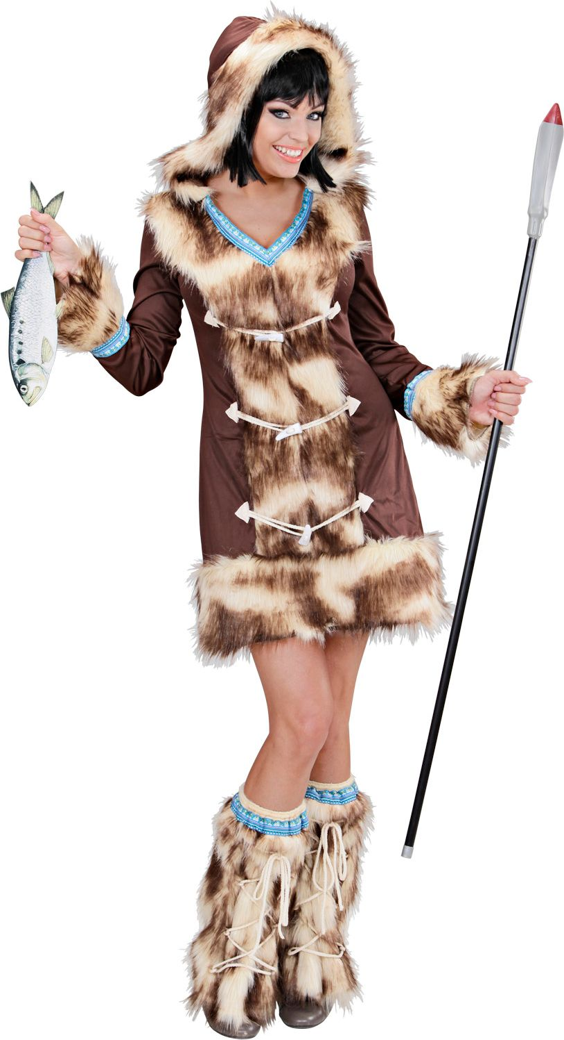 Eskimo's Jager meisje
