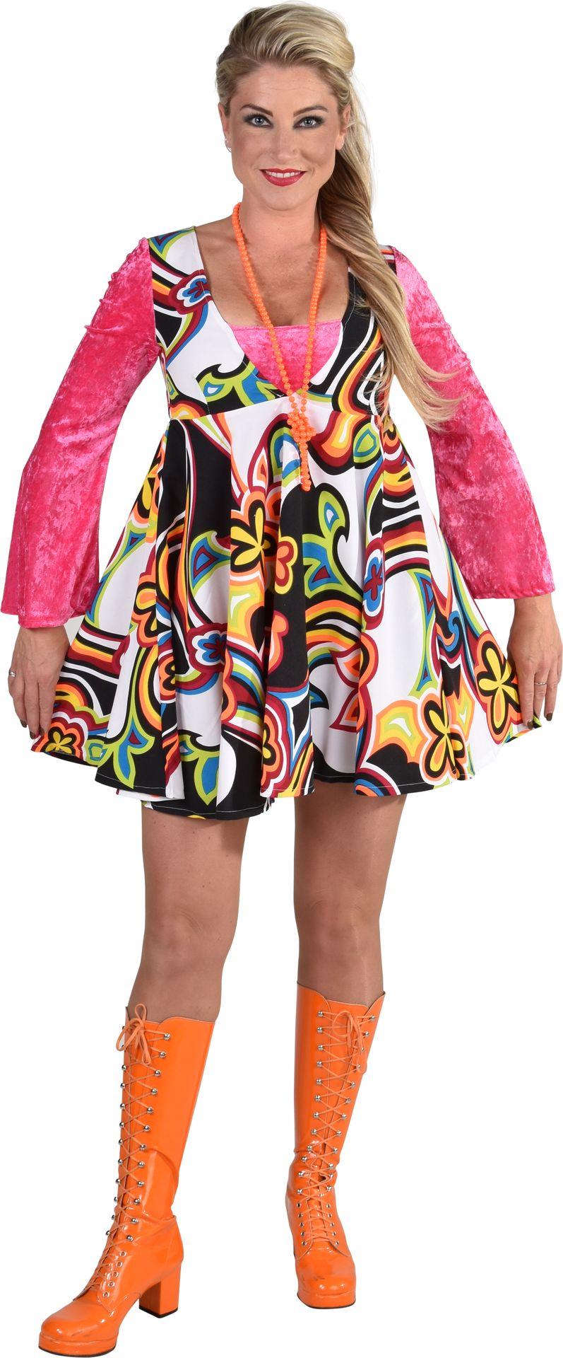 Fantasie 70s jurkje dames
