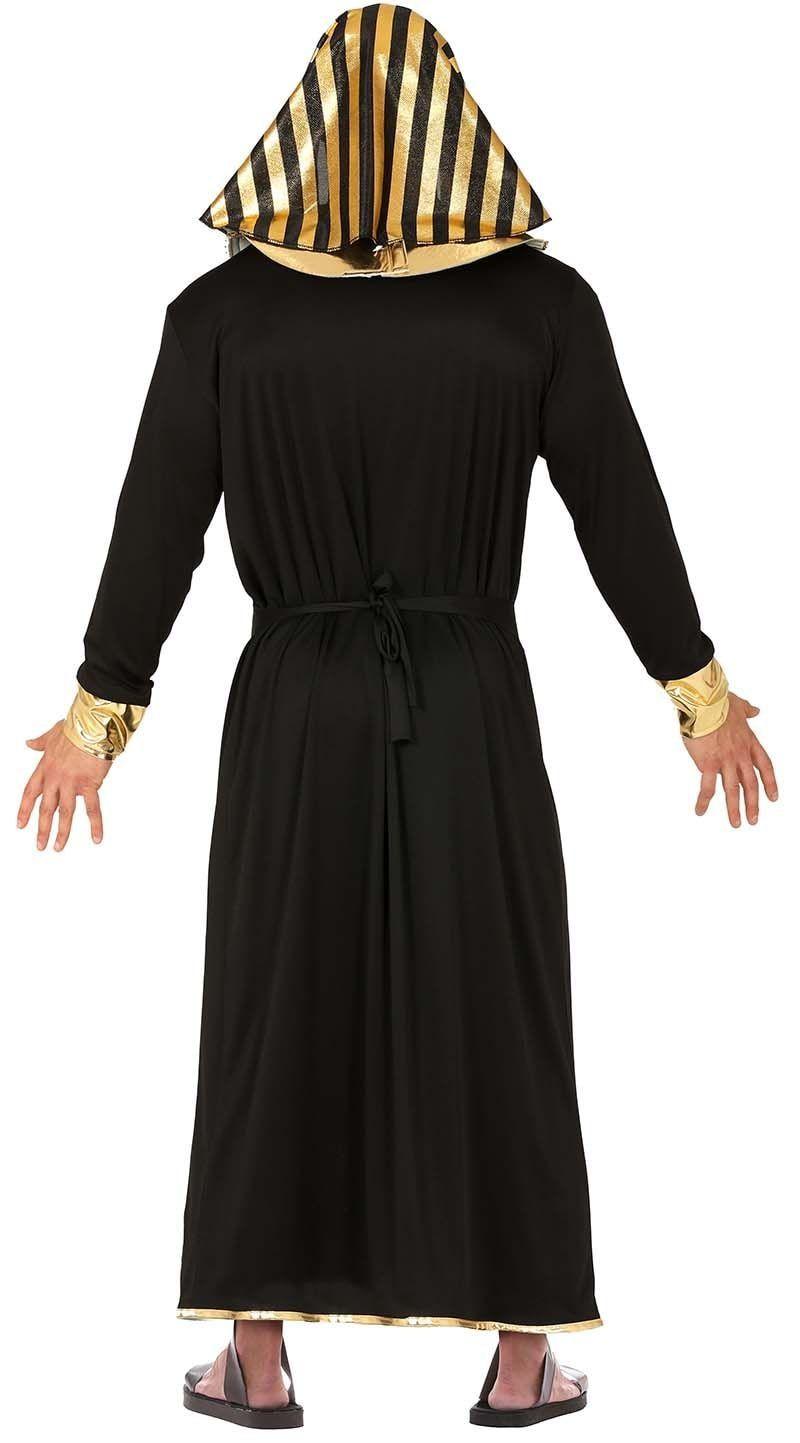Farao kostuum zwart goud