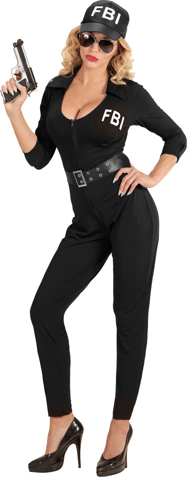 FBI kostuum dames