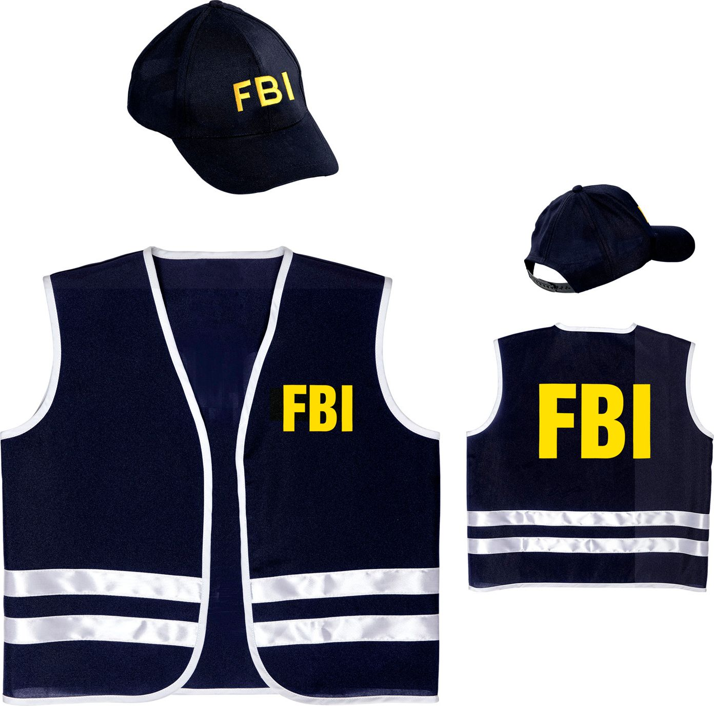 FBI vest met cap kind