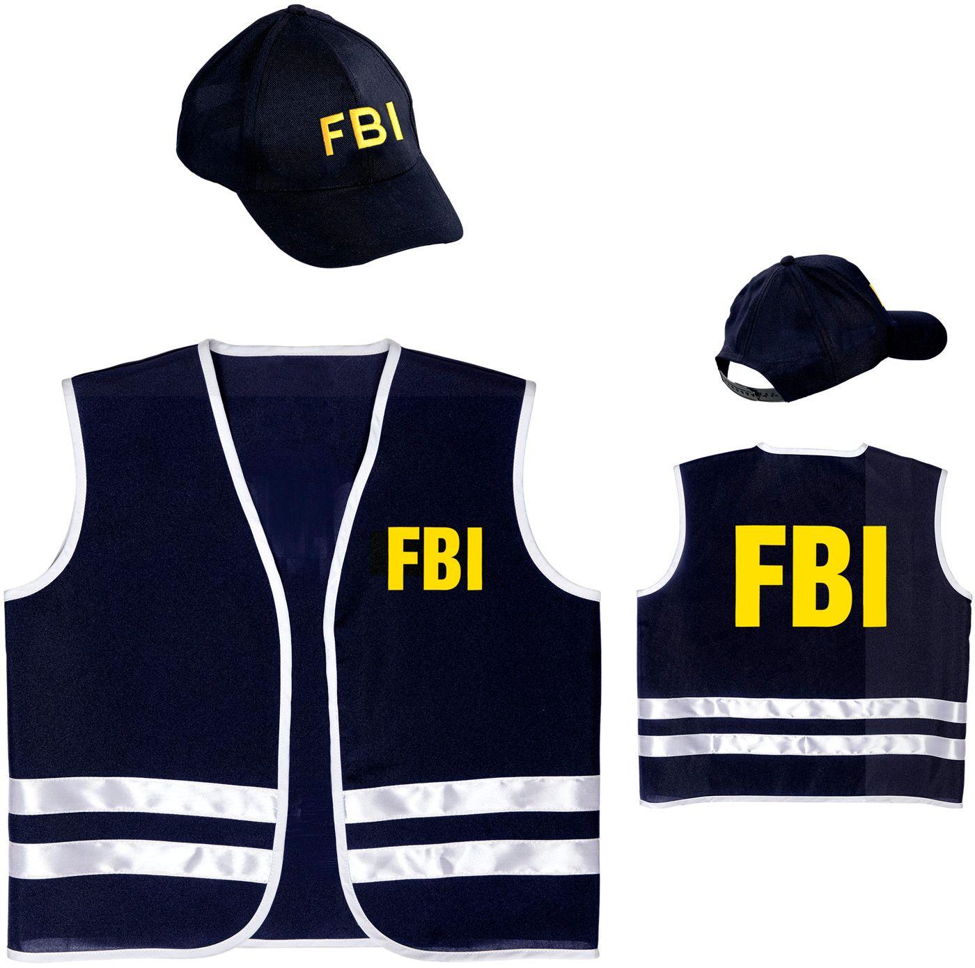 FBI vest met cap kind