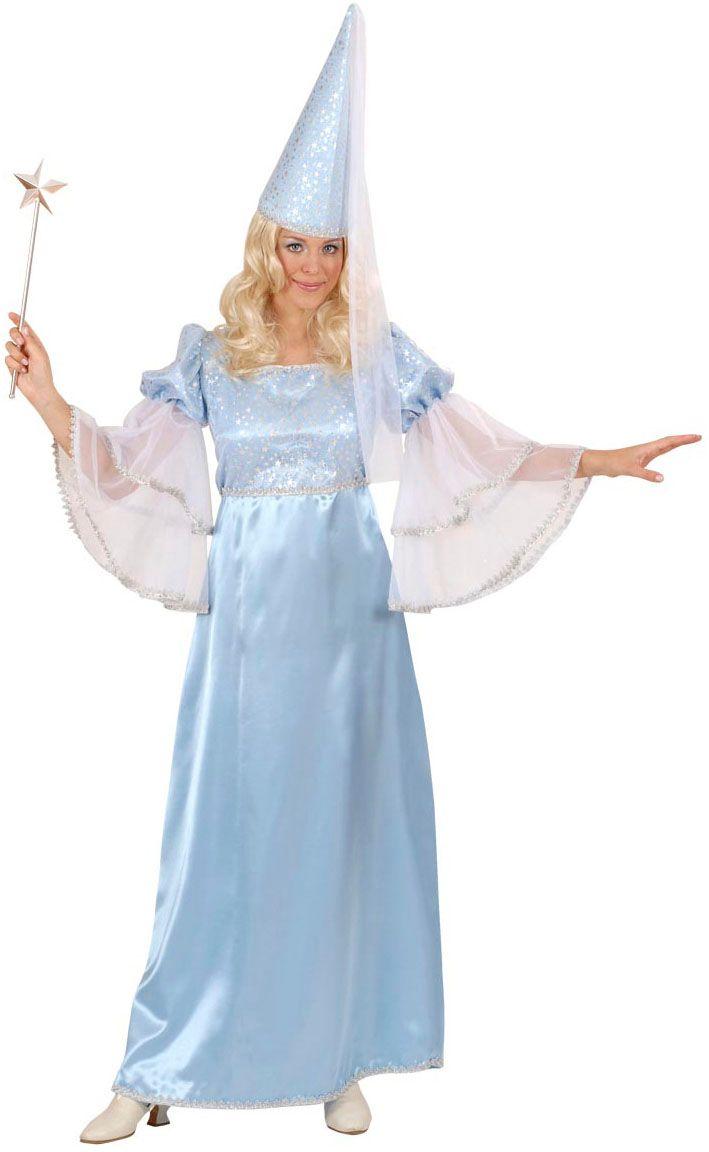 Fee lichtblauw kostuum