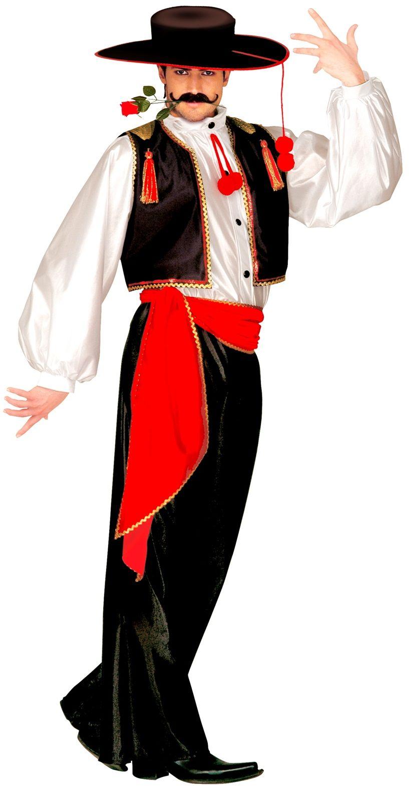 Flamenco danser kostuum