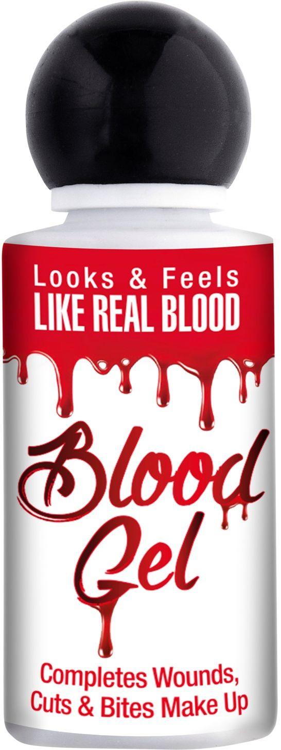 Flesje met bloed gel