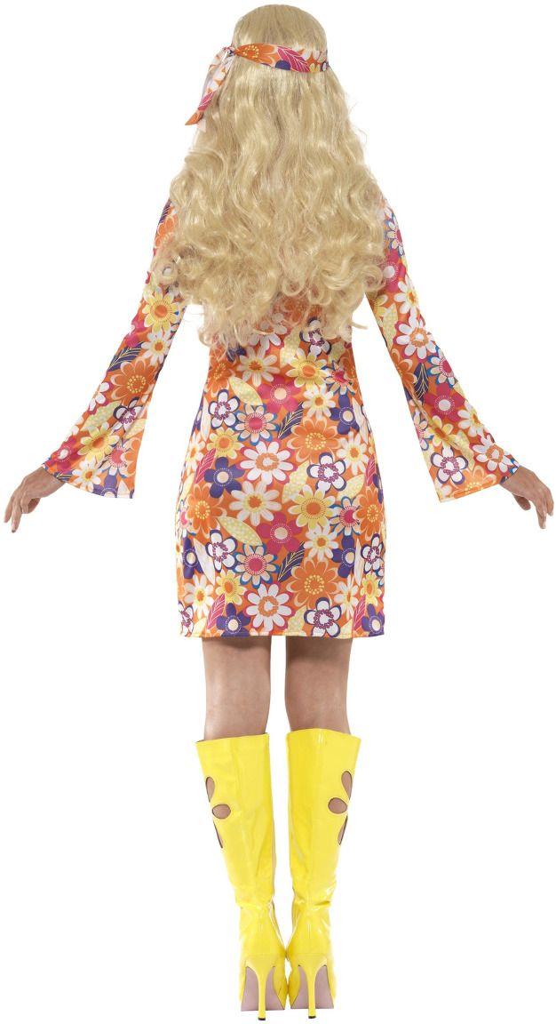 Flower power hippie jurkje