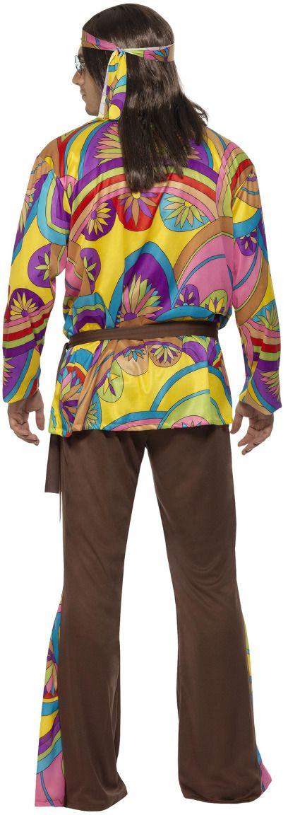 Flower power mannen outfit