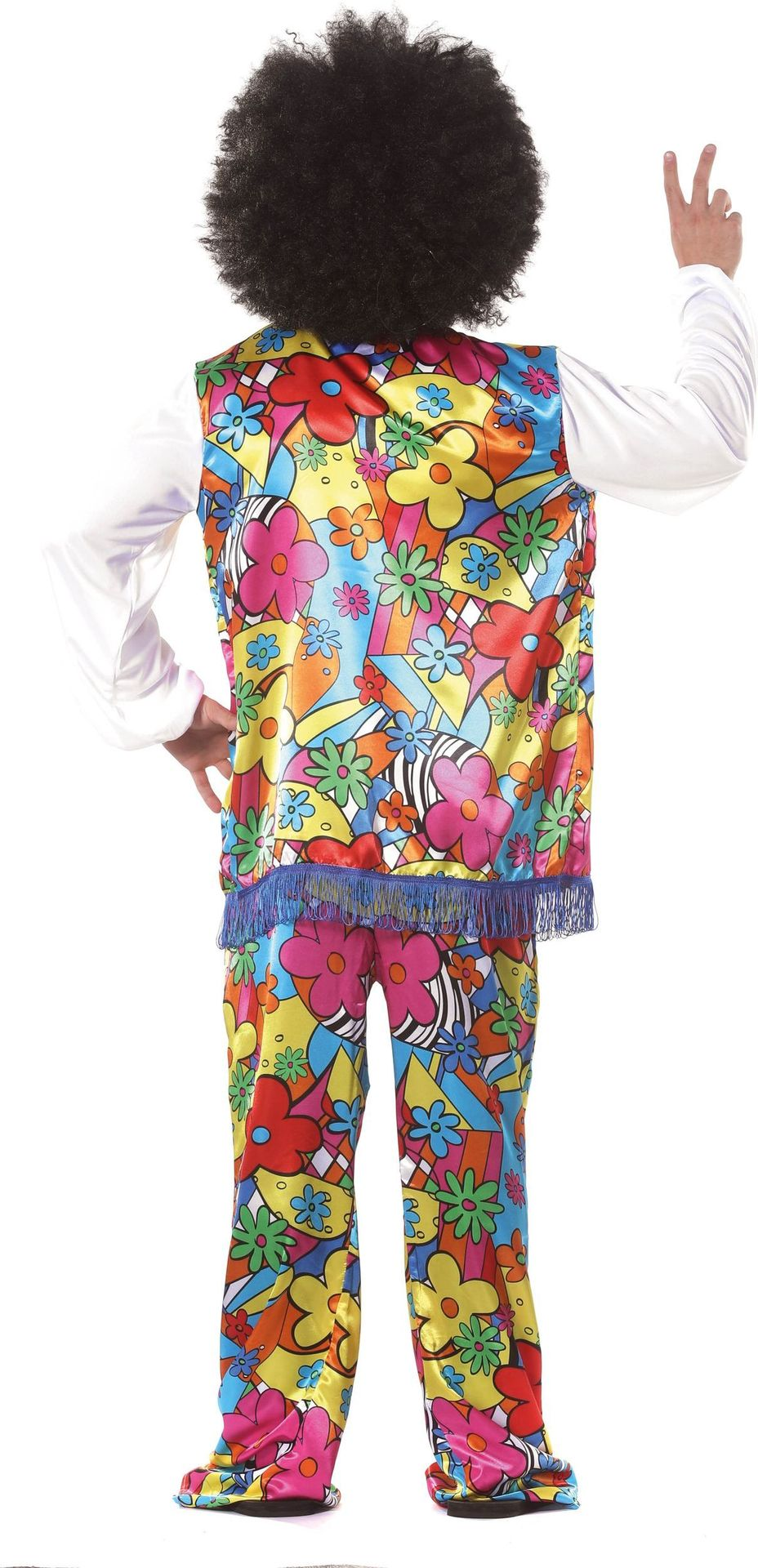 Flower Power outfit heren