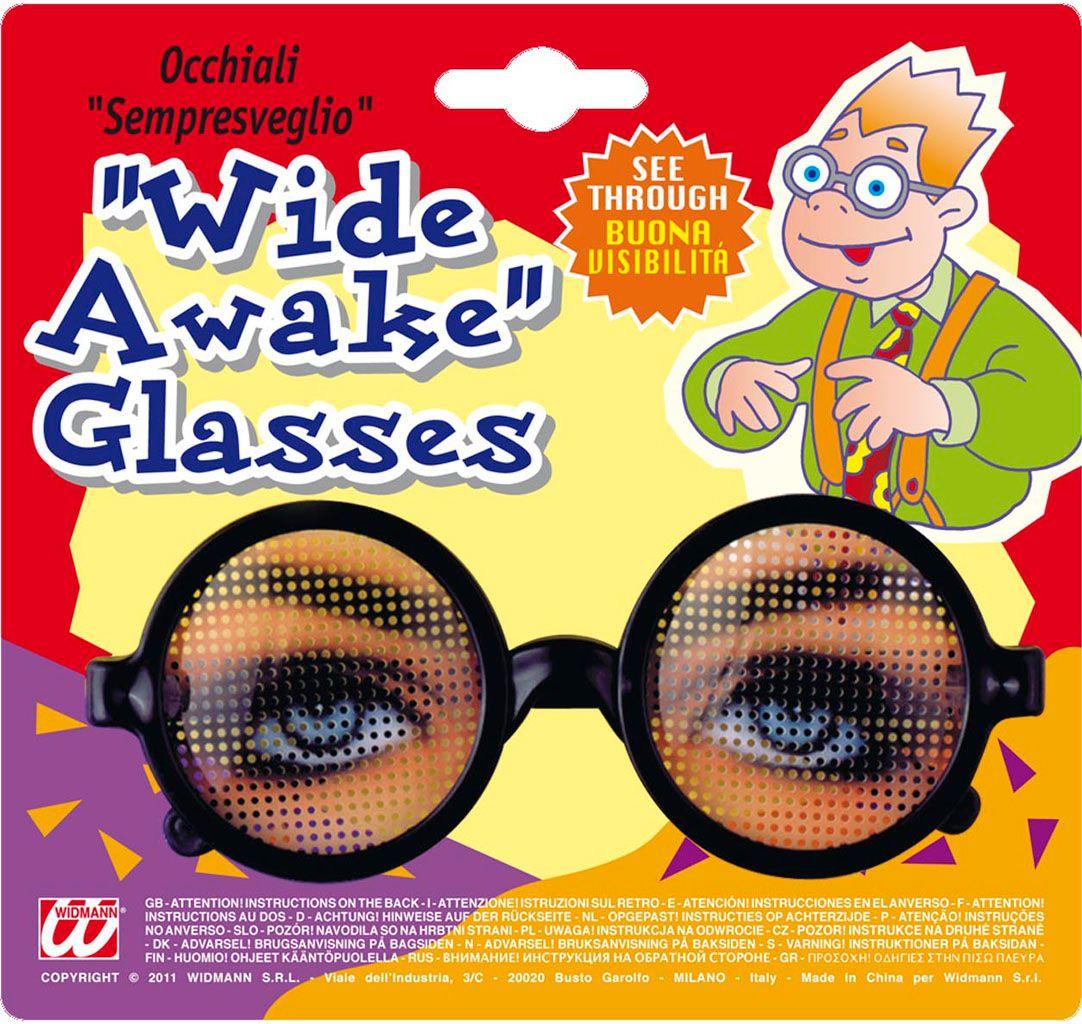 Fop bril met ogen