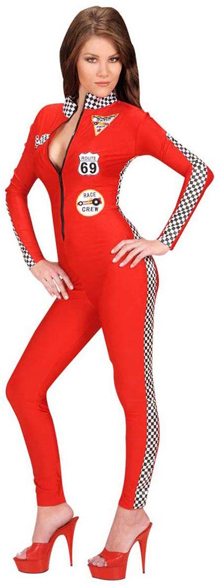 Formule 1 race catsuit rood