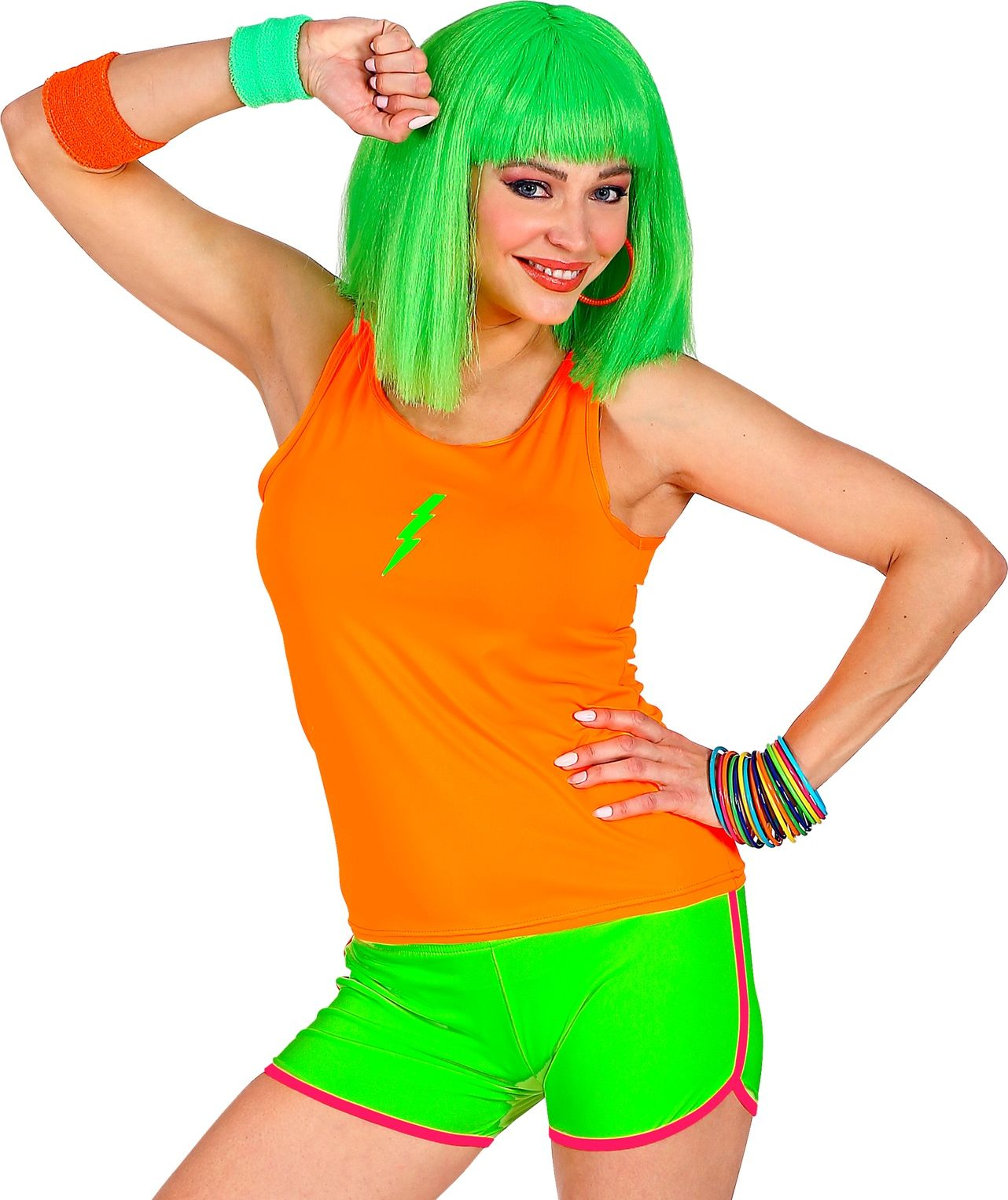 Foute groene neon hotpants