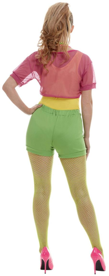 Foute jaren 80 dames outfit