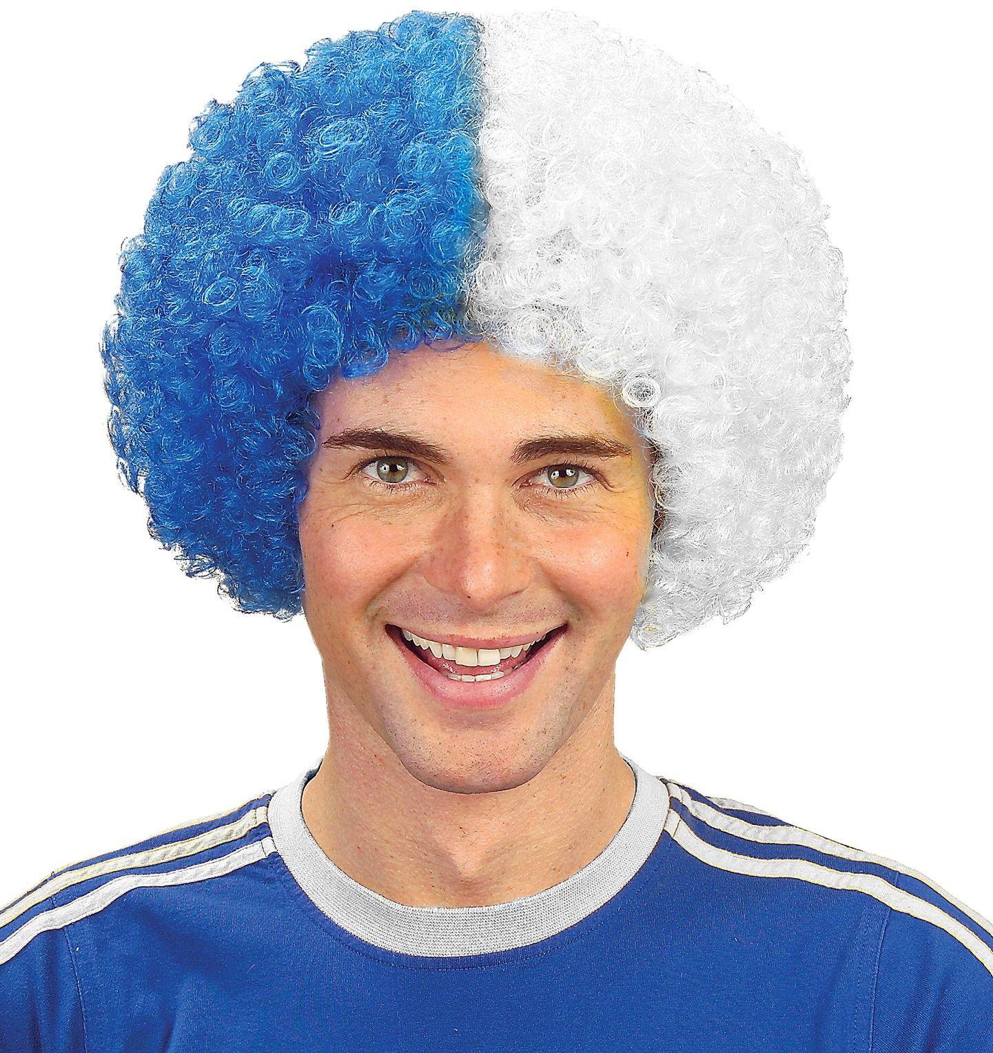 Frankrijk supporters pruik