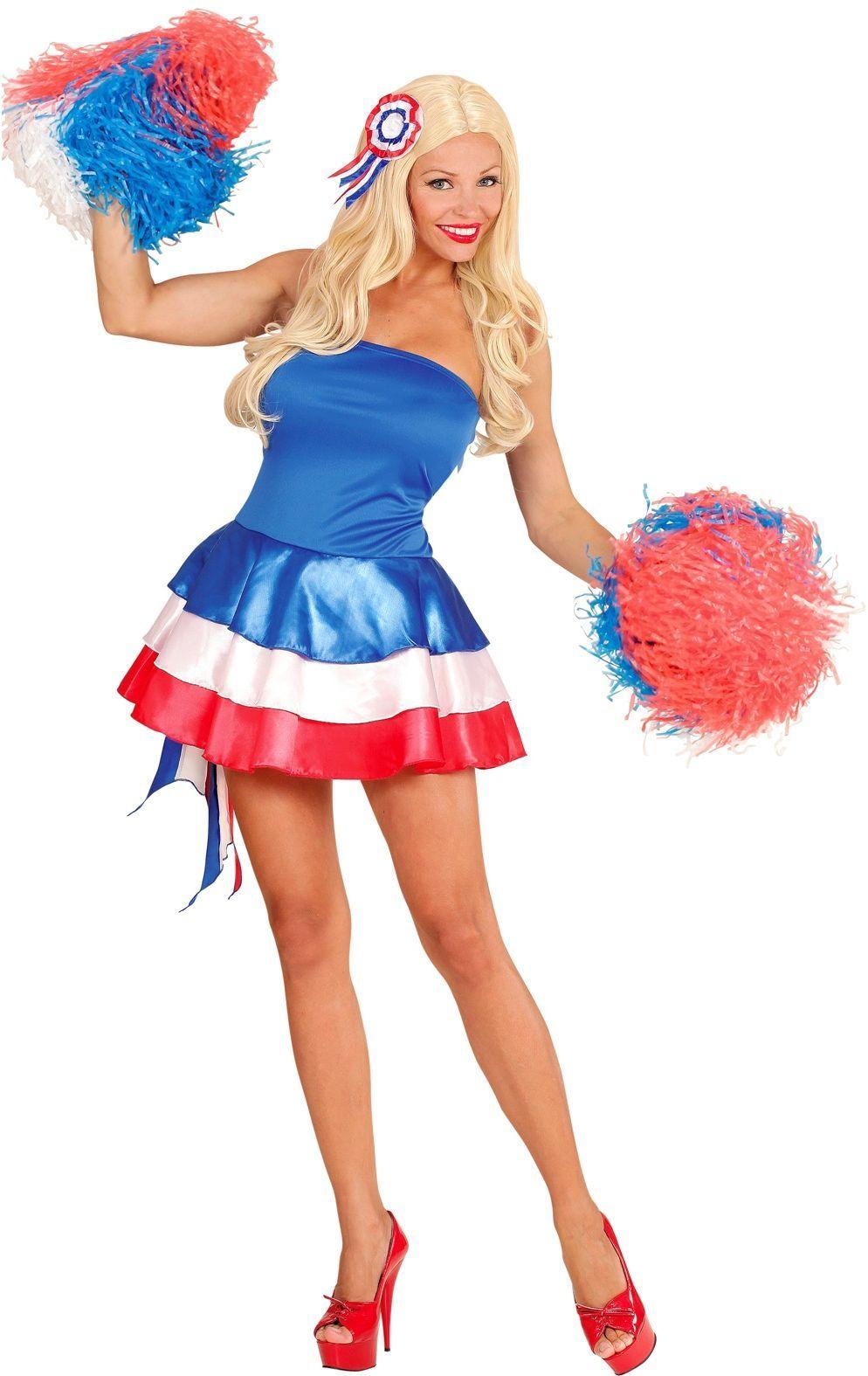 Frans jurk met haarstukje