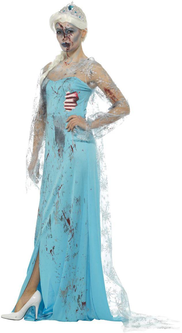 Frozen Elsa zombie kostuum
