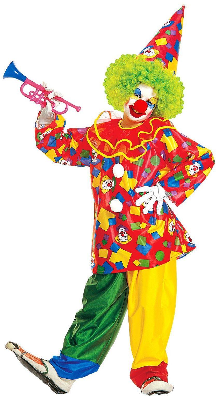 Funny Clown kinderen kostuum
