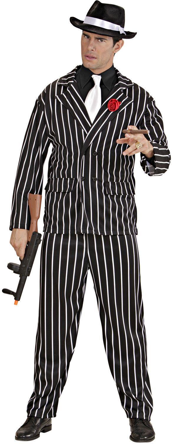 Gangster Maffiosi kostuum