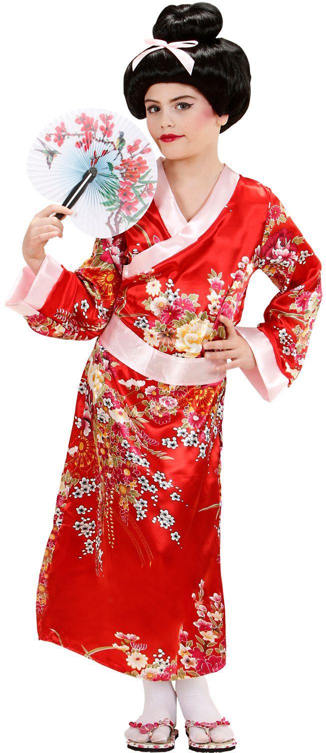 Geisha kind kostuum