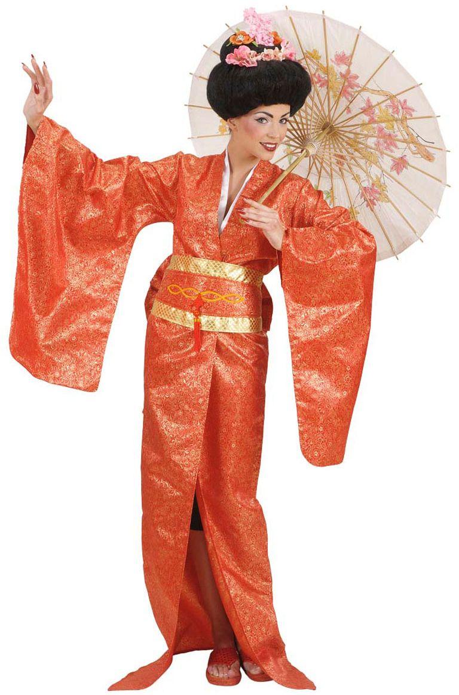 Geisha luxe kostuum