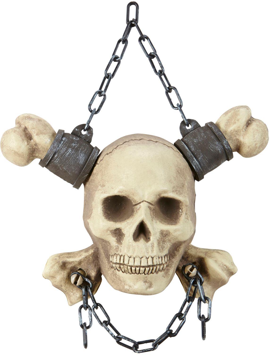 Geketende schedel