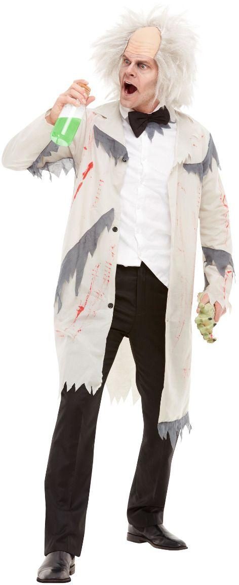 Gekke einstein wetenschapper outfit