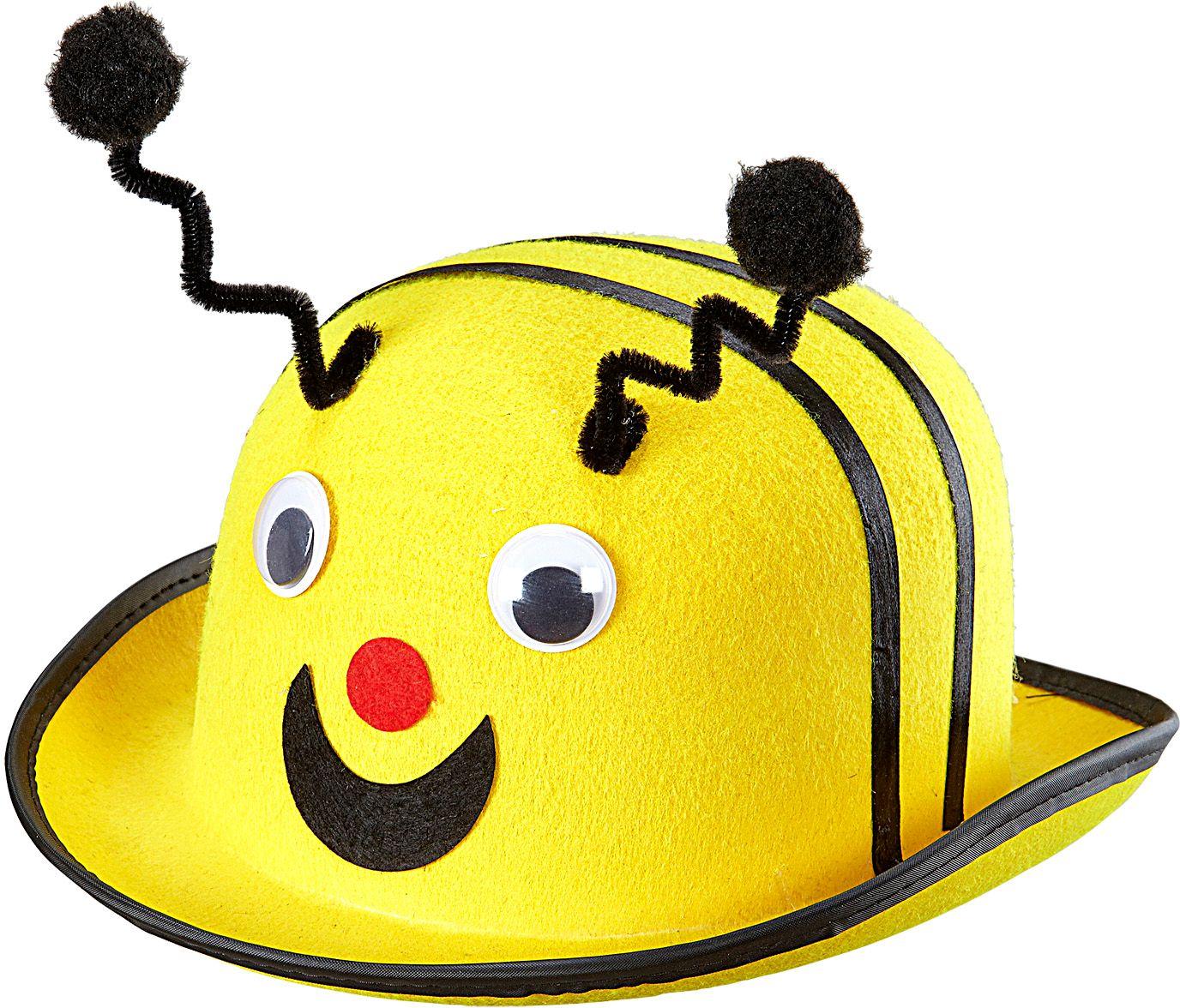 Gele bijen bolhoed