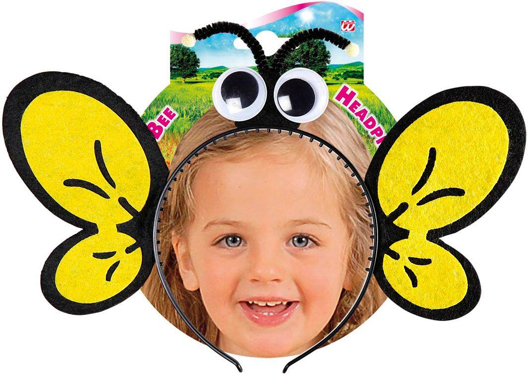 Gele bijen hoofdband