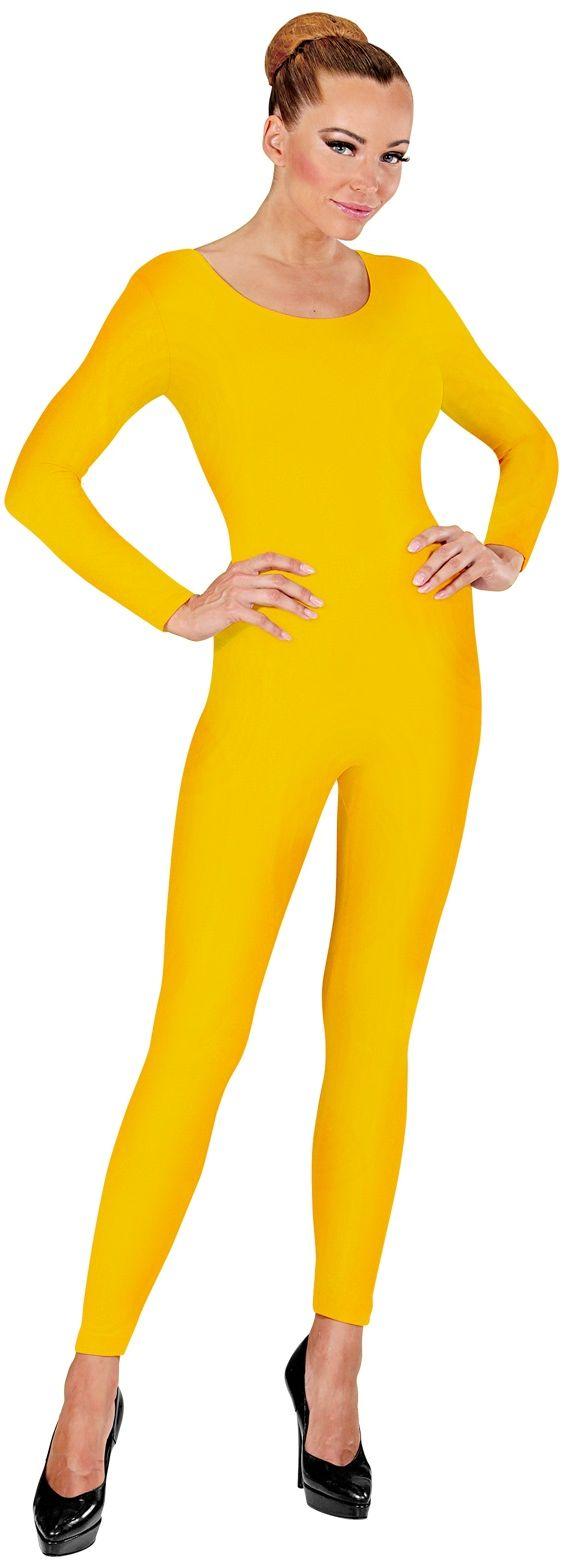 Gele bodysuit
