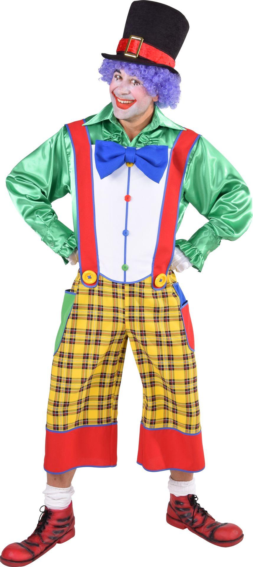 Gele clownsbroek mannen
