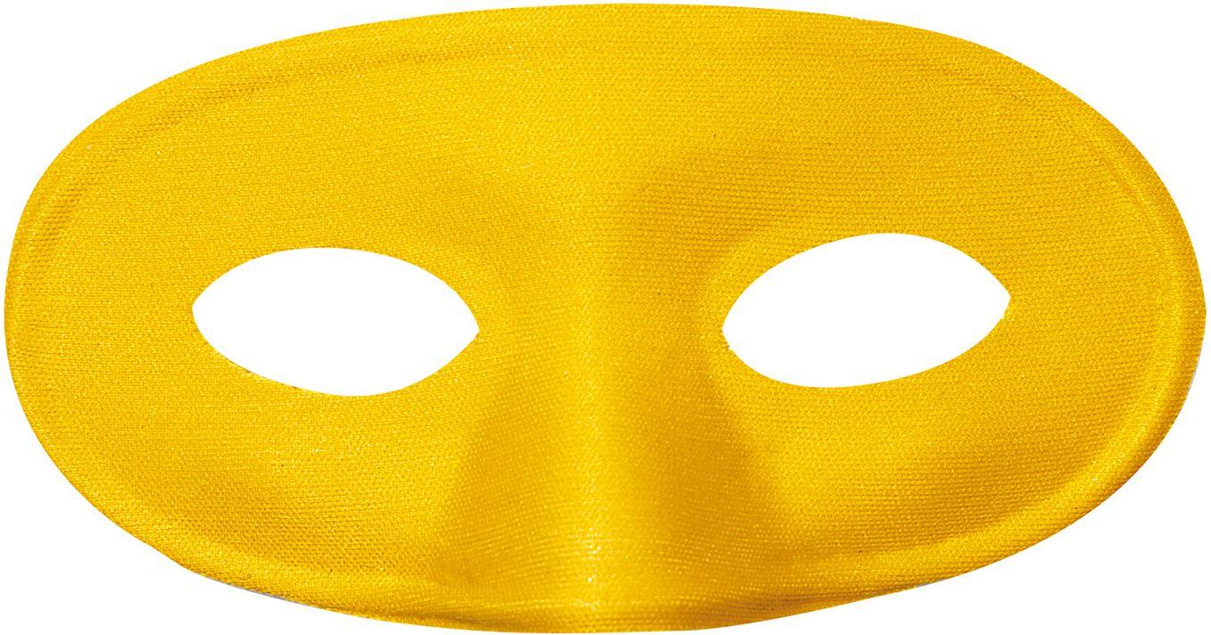 Gele mascherina oogmasker
