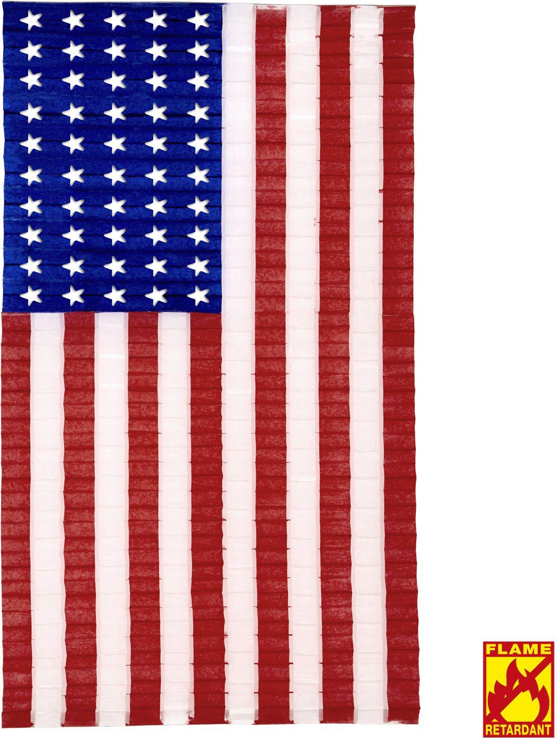 Geplooide USA vlag