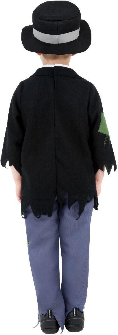 Geslepen jochie zwarte outfit