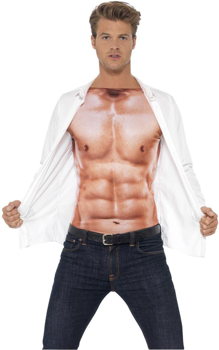 Gespierd shirt mannen