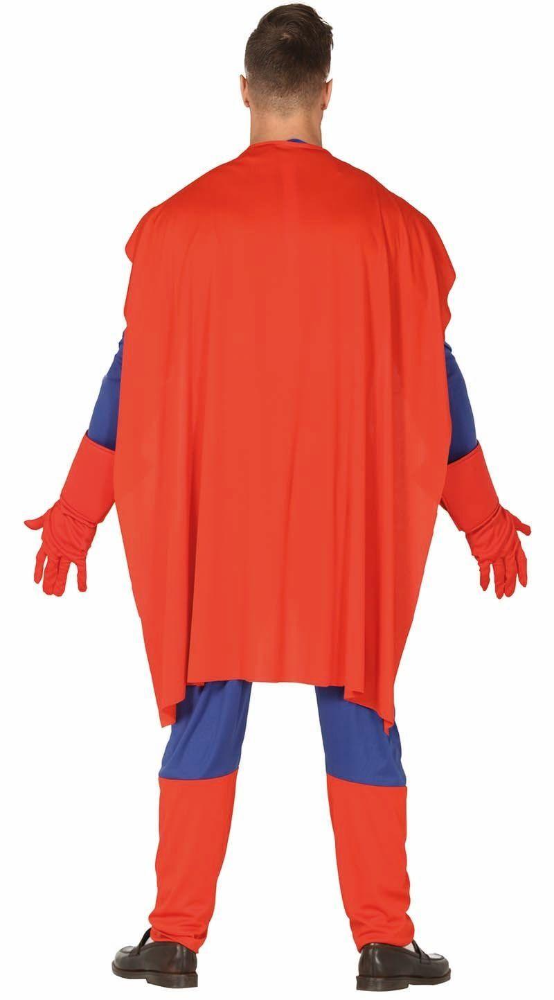 Gespierde superheld outfit heren
