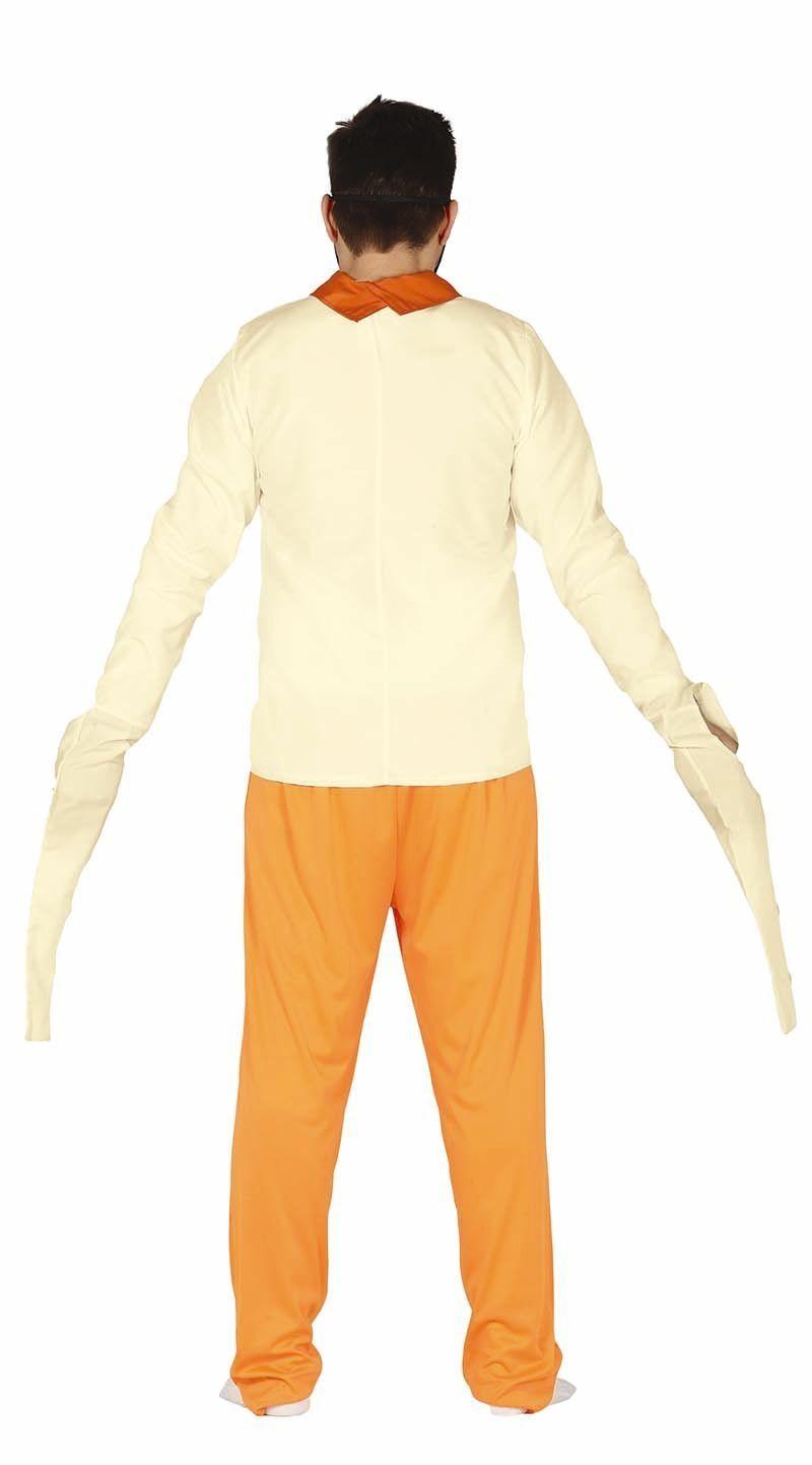 Gestoorde gevangene kostuum