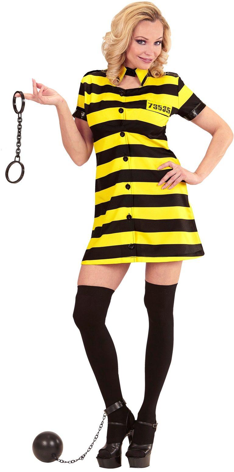 Gevangenis kostuum dames