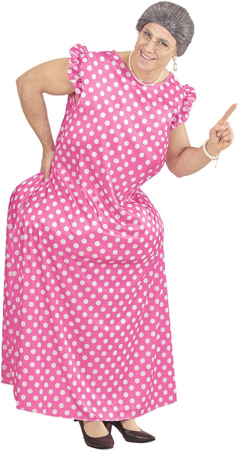 Gezette oma kostuum One-size-volwassenen