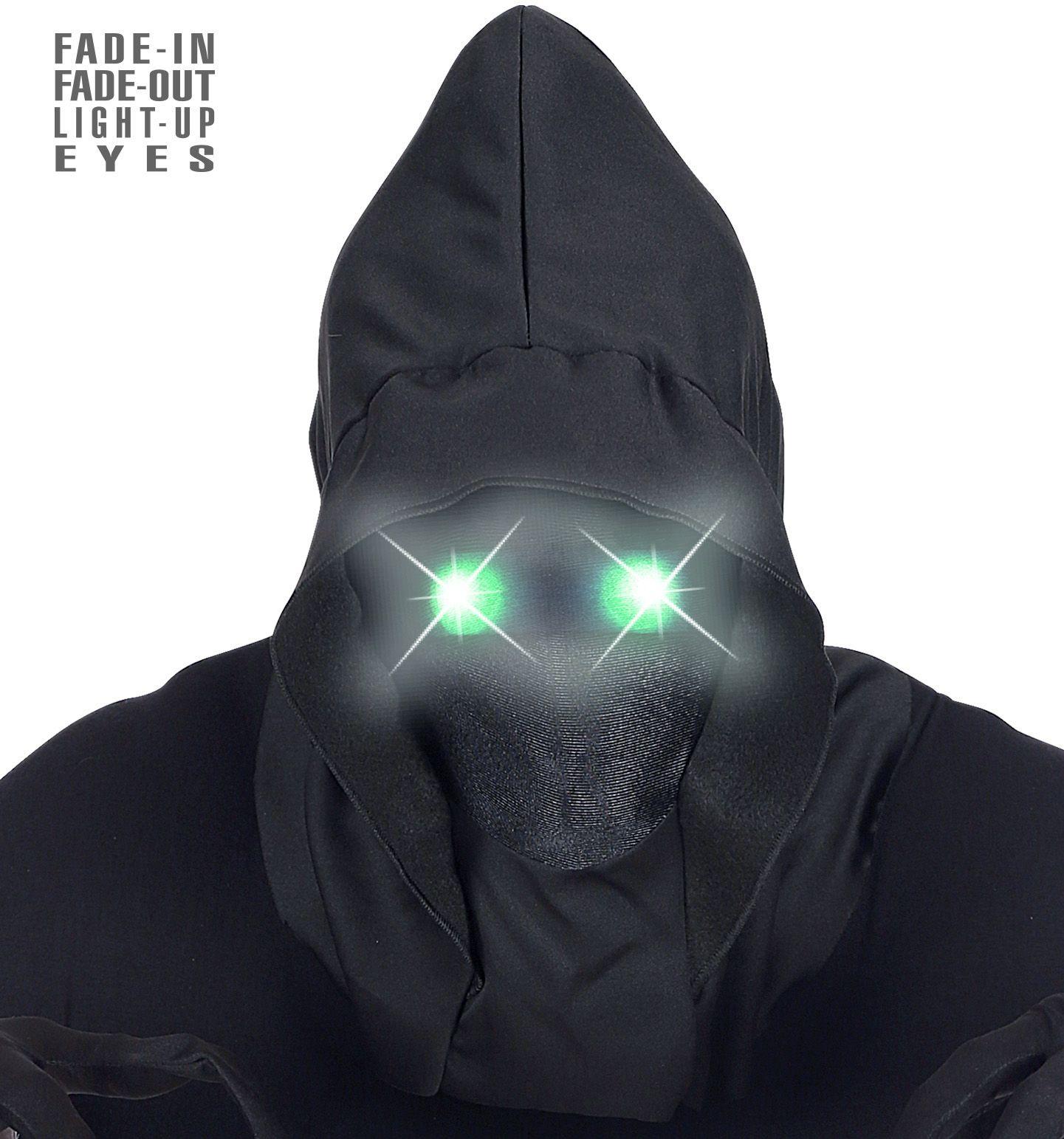 Gezichtloos masker groene ogen heren