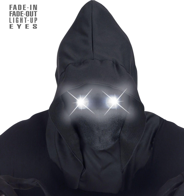 Gezichtloos masker witte ogen heren
