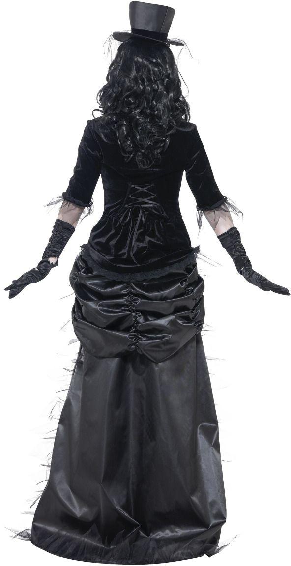 Ghost town zwarte weduwe outfit