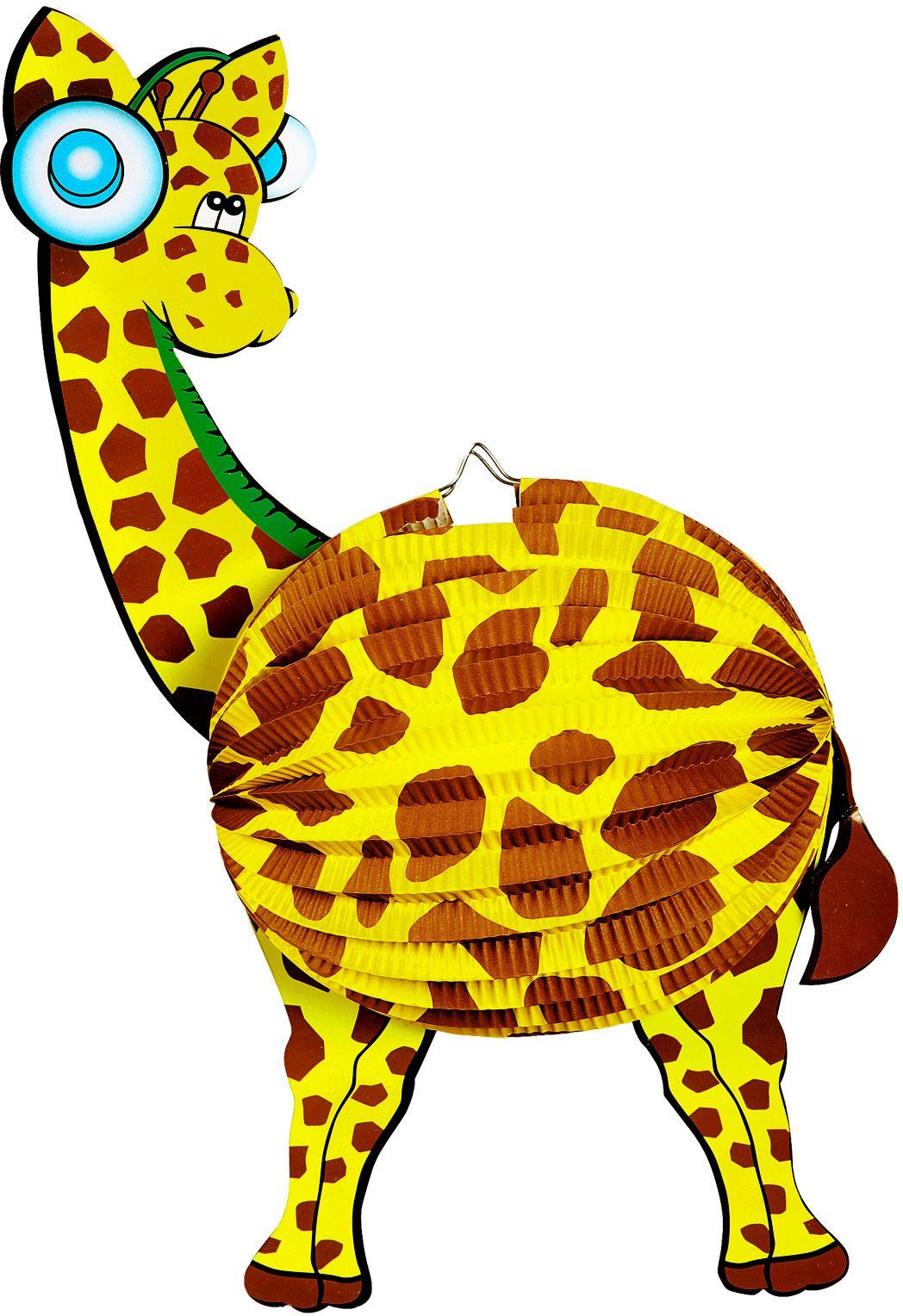 Giraffe lampion